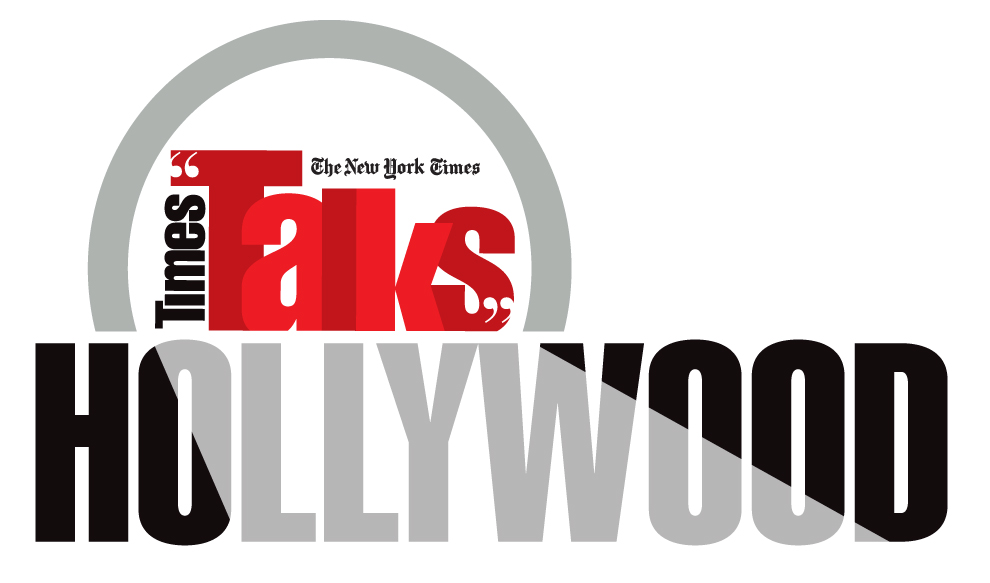Hollywood Times Talk event graphic design