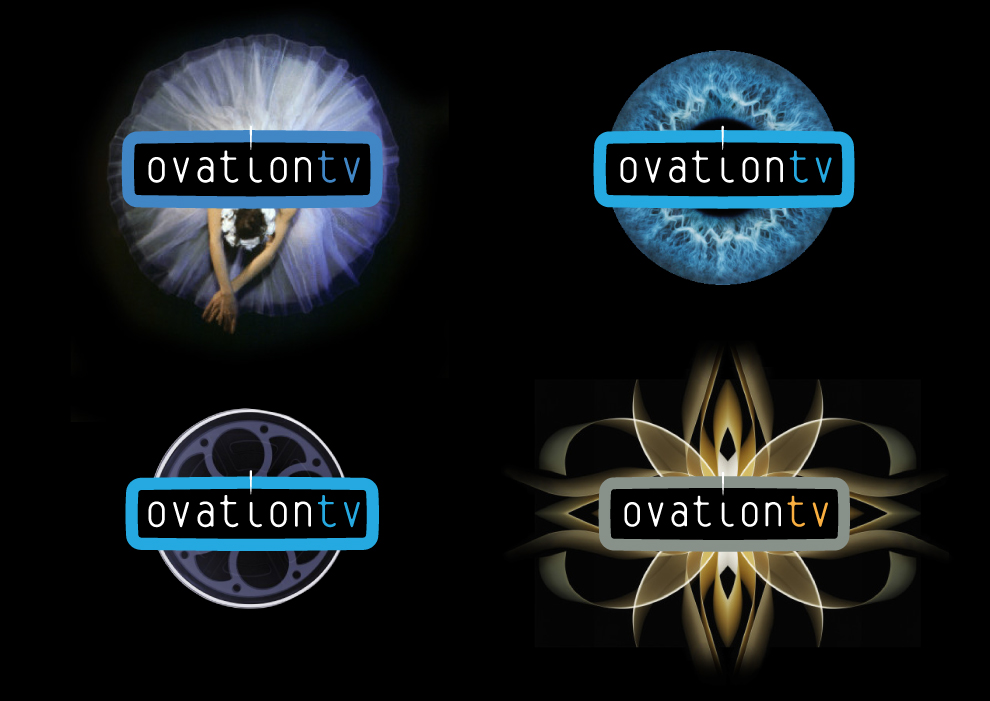 Design concepts for Ovation TV